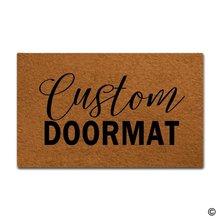 Коврик для двери входной коврик на заказ коврики Забавный входной пол коврик нескользящий коврик 18 на 30 дюймов машинная стирка