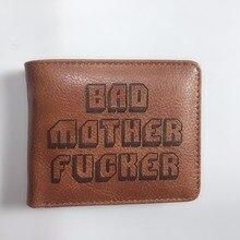 17a81db37 Cartera con bolsillo de dinero con cremallera letras Mala Madre niños  billetera tarjetero Vintage bolsa de regalo W1171Y