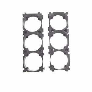 Image 5 - 50pcs/lot 3P 32650 Battery Holder Bracket 32650 Cell Spacer DIY battery pack