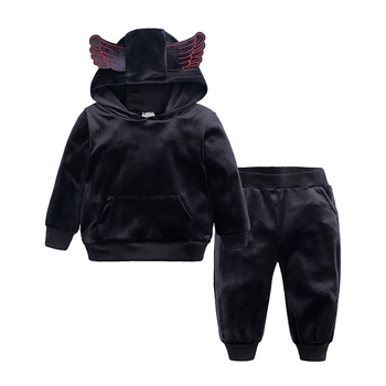 2019 Children Clothing Spring Autumn Girls Clothes Wing Outfits Kids Costume Boys Sport Suit For Kids Girls Clothing Sets MB497 1