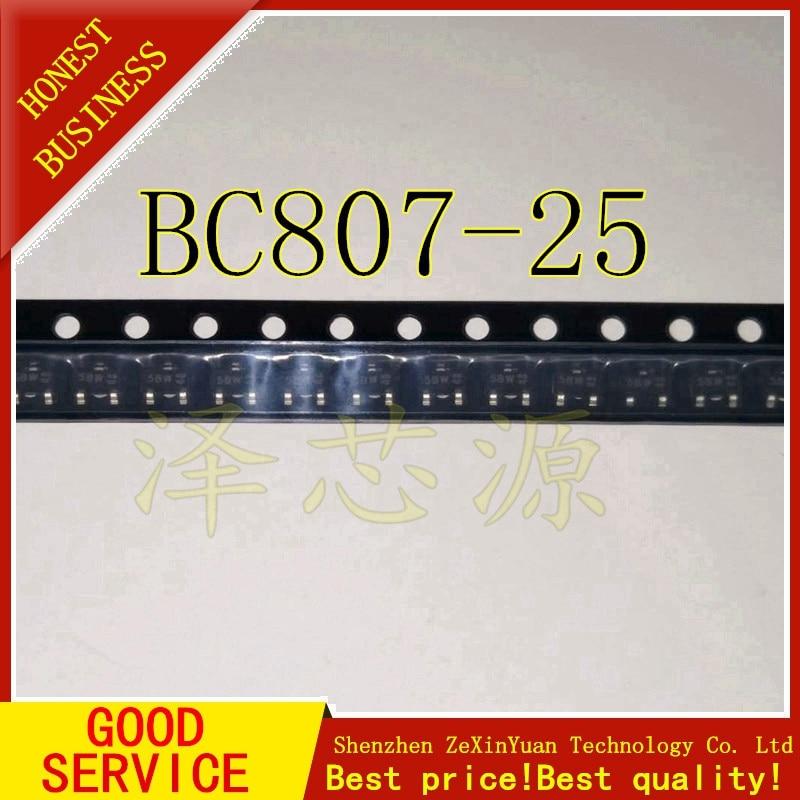 100PCS/LOT BC807-25 5B 5B1 807-25 SOT-23 5BW BIPOLAR TRANSISTORS TRANSISTOR(PNP)