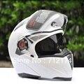 НОВЫЙ Мотоциклетный Шлем Мотокроссу Защитный Анфас Capacete Каско Moto Мотоцикл Двойной Козырек Флип-Стрит Рыцарь ТОЧКА