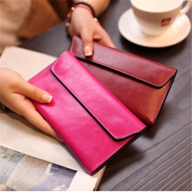Long Magnetic Buckle Clutch  1