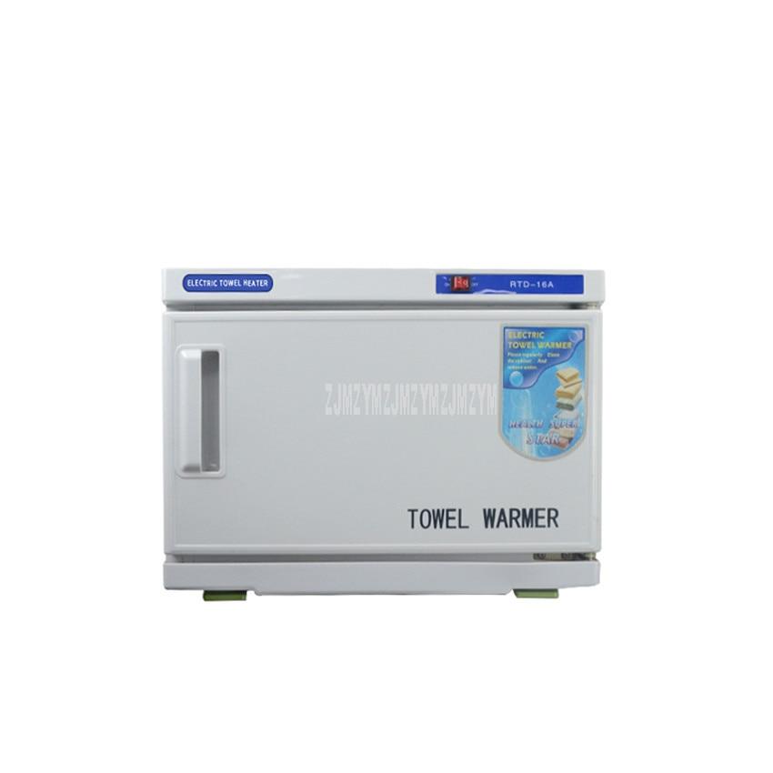 16L Towel Ozone UV Sterilizer Machine Beauty Parlour Barber Towel Warmer Clothing Ultraviolet UV Disinfecting Cabinet KA-16A