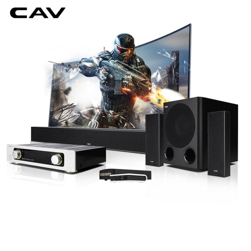 CAV AL210 Home Theater 5 1 Sets Column DTS Trusurround Sound Subwoofer Dynamics Music Center Speaker