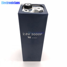 2.8V 3000F 2.8V3000F 158*51mm Super Capacitor Ultracapacitor Low ESR High Frequency Super Farad Capacitor for Car Vehicle