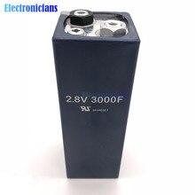 2.8V 3000F 2.8V3000F 158*51mm süper kapasitör Ultracapacitor düşük ESR yüksek frekanslı süper Farad kapasitörler için otomobil araç