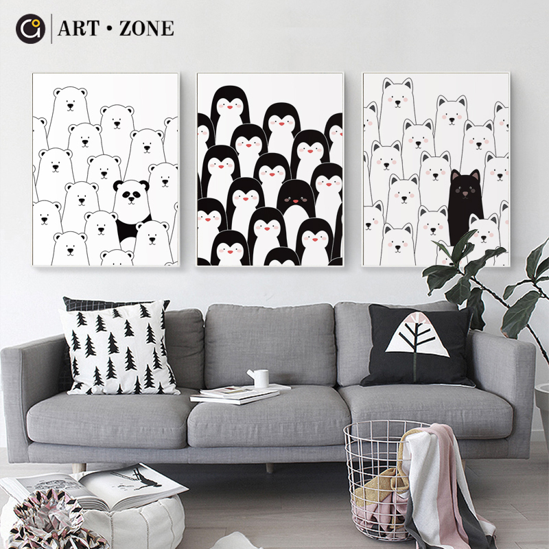 And, Penguin, Decor, For, Look, Animals