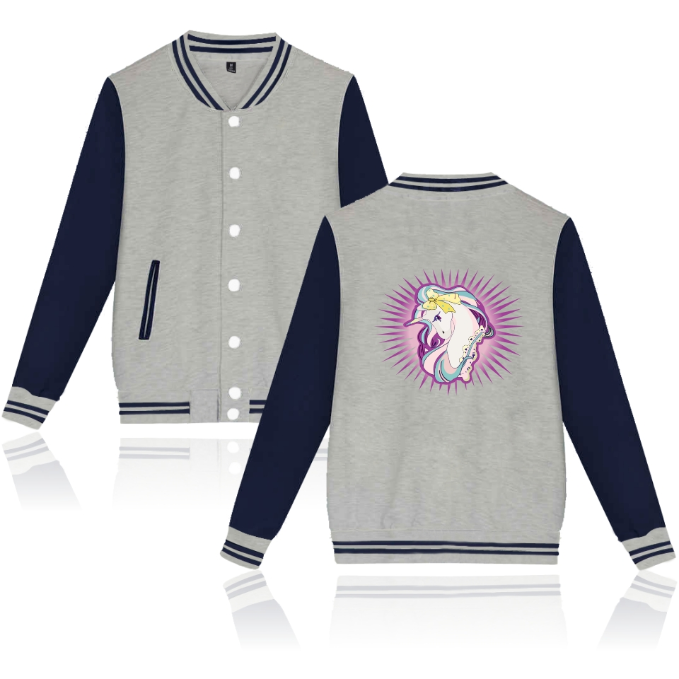 Harajuku Tracksuit Unicorn Jackets Women Men Unicornio Casual Pink Sweatshirt Kawaii Hoodies Sudaderas Unicorn XXS To 4XL