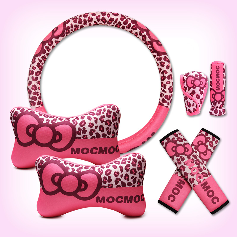 Bow Car Seat Cover Set