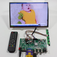 HDMI VGA BNC USB لوحة التحكم بحجم الصوت JX-V2959-AVM مع 10.1 بوصة B101EW05 1280x800 IPS لوحة ال سي دي
