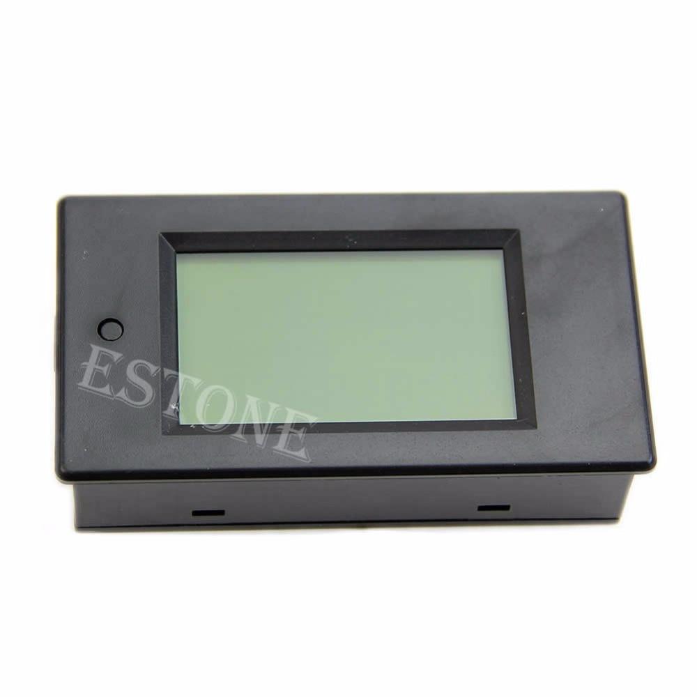 Wattmetro digitale LCD Volt Watt Potenza Amperometro Voltmetro AC 80-260 V 20A Traiettoria Nuovo 2017