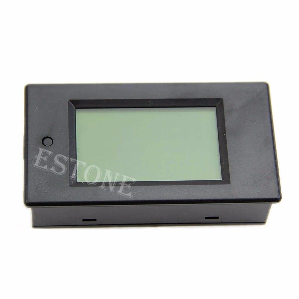 LCD Digital Wattmeter Volt Watt Power Ammeter Voltmeter AC 80-260V 20A Trajectory New 2017