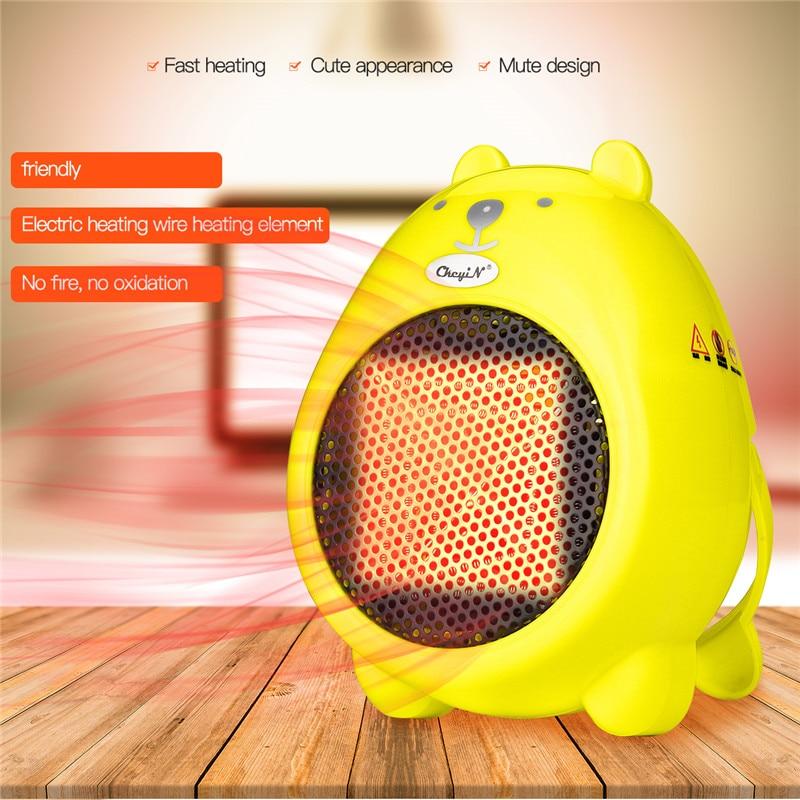 Portable Mini Warm Air Blower Electric Heater No Radiation