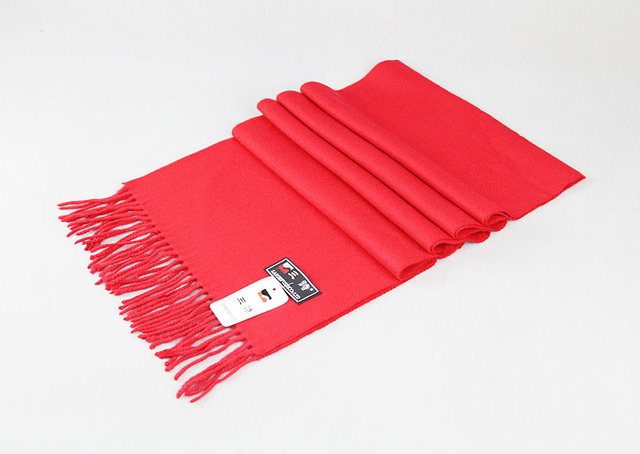 Мужская дешевые красный кашемировый - как шарф мягкий чувство кашемир , как шарф 180 X 30 см