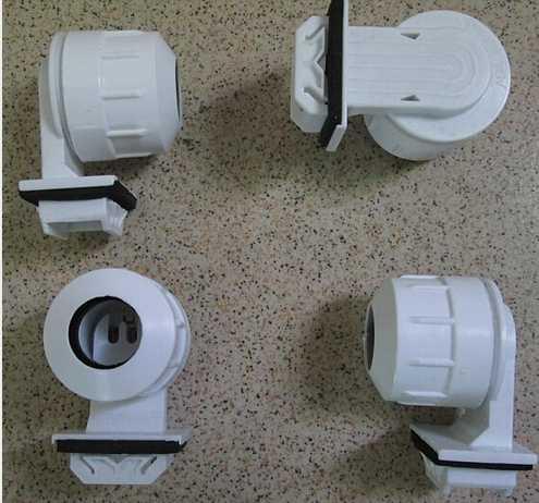 2 шт. водонепроницаемый T5 лампа цоколь держатель освещение водонепроницаемый