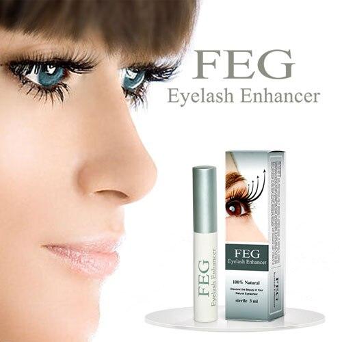 FEG Crescita Delle Ciglia Enhancer, Trattamenti di medicina naturale ciglia siero sferza mascara ciglia siero allungamento crescita sopracciglio