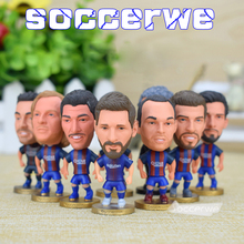 14 PCS Barca Team Figures Buy Barcelona Player Figures