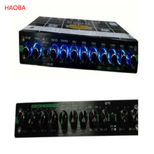 цена car equalizer audio equalizer for cars ecualizador de audio equalizer-for-cars free shipping онлайн в 2017 году