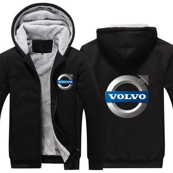 Kaufen Billig Volvo Männer Zipper Hoodies Mantel Winter