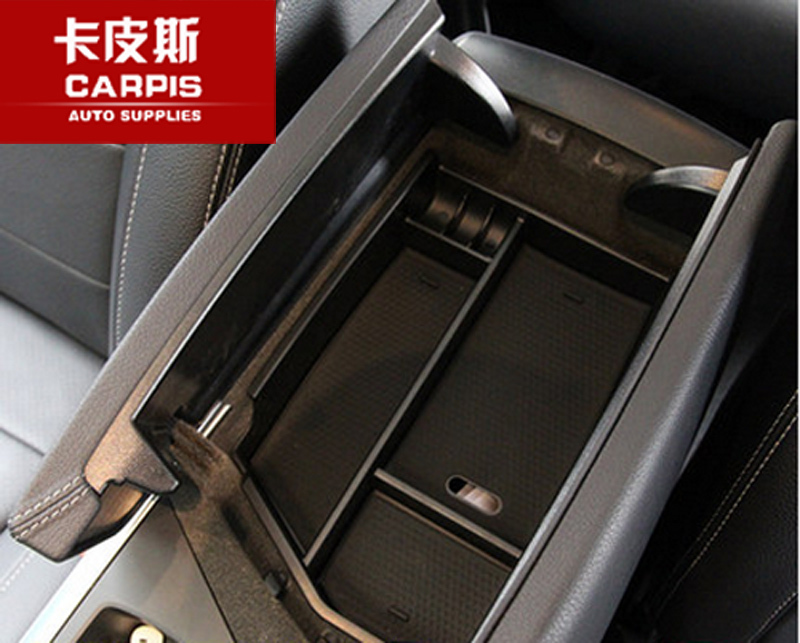Car Central Armrest Storage Box Container Tray Organizer