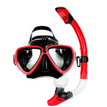 Top Snorkel set Gopro camera mount diving mask with dry snorkel silicone diving mask adult diving equipement and snorkel gears
