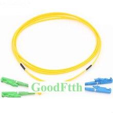 Fiber Patch Cord Jumper E2000/APC E2000/UPC SM Duplex GoodFtth 20 50 m
