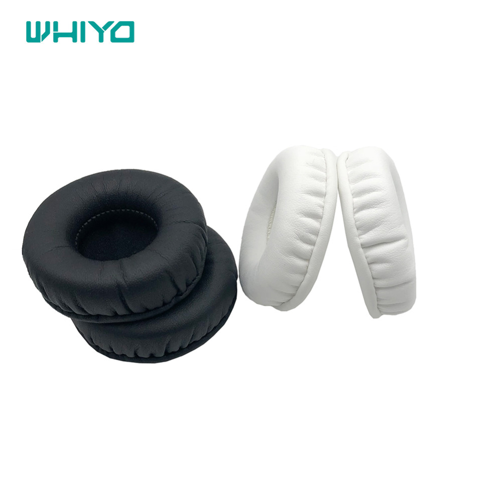 Whiyo 1 pair of Sleeve Ear Pads Covers Cups Cushion Cover Earpads Earmuff Replacement for <font><b>Philips</b></font> SHL5010 SHL5011 Headphones image
