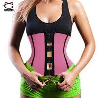 New Design Front High Back Low Neoprene Sweat Sauna Waist Trainer Belt Body Shaper Tummy Control