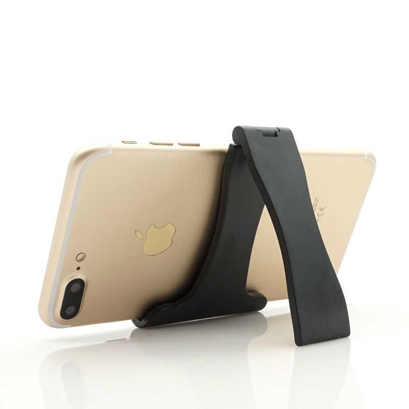 Ascromy Mini สีดำสำหรับโทรศัพท์ iPhone XS xr X 8 Xiaomi Redmi หมายเหตุ 5 Samsung Galaxy S9 S8 หมายเหตุ 9 ขาตั้ง Soporte