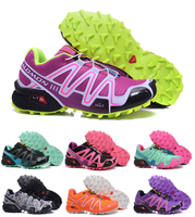 Salomon Speed Cross 3 CS Outdoor Breathable Sneakers Women Athletics Female Air Mesh Jogging Running Athletic Sport Shoes 36 41