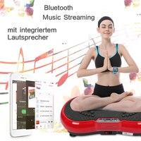 Vibration fitness massager ultra thin body massage board exercise weight loss machine blood circulation fitness equipment HWC