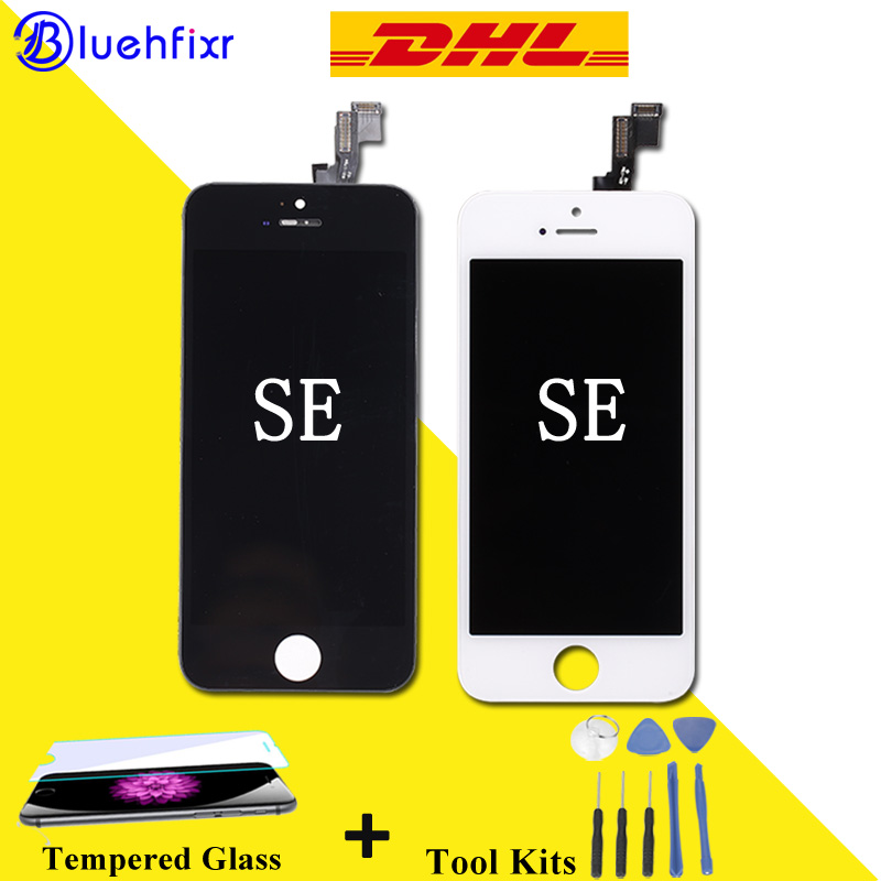 DHL Shipping for iphone SE LCD Display Touch Screen Digitizer Assembly Phone Replacement Parts LCD Mobile Phone LCD