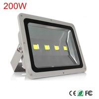 1Pcs 200W Led Flood light Waterproof IP66 Led Spotlight AC85 265V AC110V/220V Street lamp Outdoor Floodlight lighting