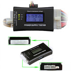 SD power supply tester for PC-power supply/ATX /BTX /ITX compliant LCD Display SATA HDD Tester 20/24 pin Professional