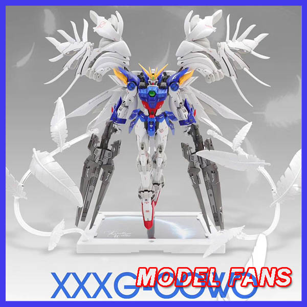MODEL FANS first edition MODEL HEART FIX  style VERSION WING Gundam ZERO EW MG 1/100 action assembly figure robot toy-in Action & Toy Figures from Toys & Hobbies