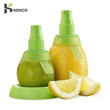 KONCO 2 шт лимонный сок опрыскиватель, ручной апельсиновый сок цитрусовый спрей для свежего вкуса, соковыжималка лимона для салата, кухонные гаджеты