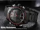NAVIFORCE 9024 мужские спортивные часы модные роскошные мужские кварцевые брендовые аналоговые цифровые часы полностью стальные мужские наручны... - 4
