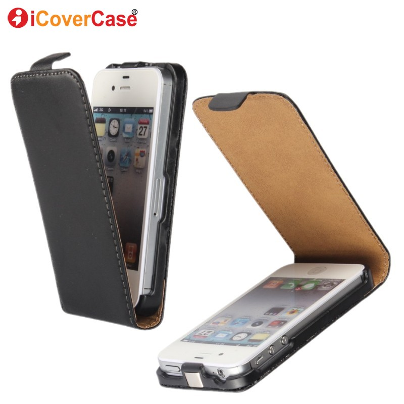 Flip Leather Wallet for iPhone 4s Case Cover Fundas Phone Bag Cases Acc