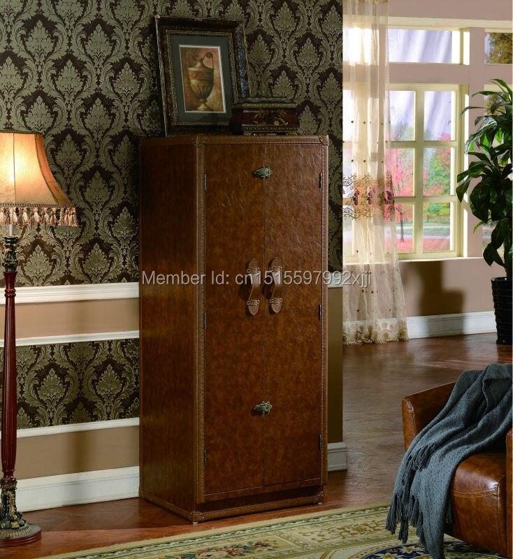 2019 Archivadores Para Sala Promotion salon armoires style américain armoire à vin meubles anciens nouveau modèle X23 - 5