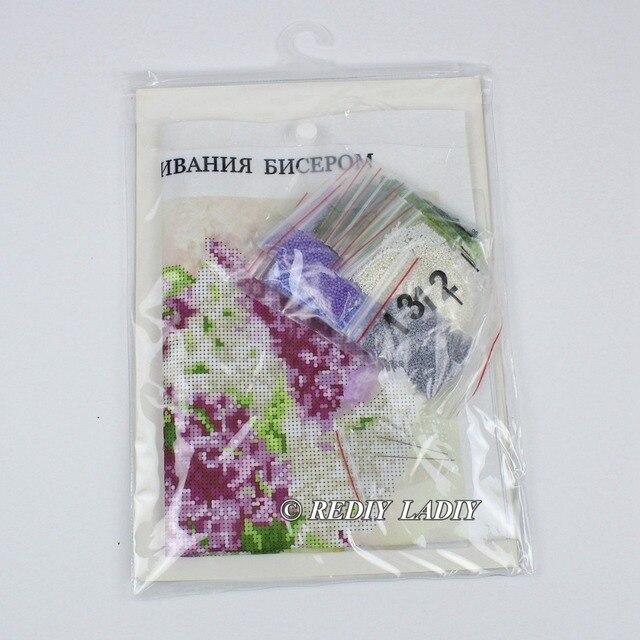30.5×3 6cm Précis imprimé cristal perles kit de broderie fleurs perlage artisanat couture bricolage perles point de croix 4