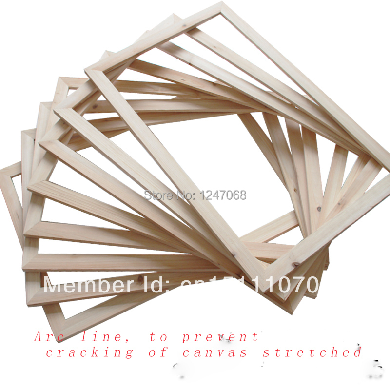 Painting bare wood inner frame 30*40cm-in Easels from Office ...