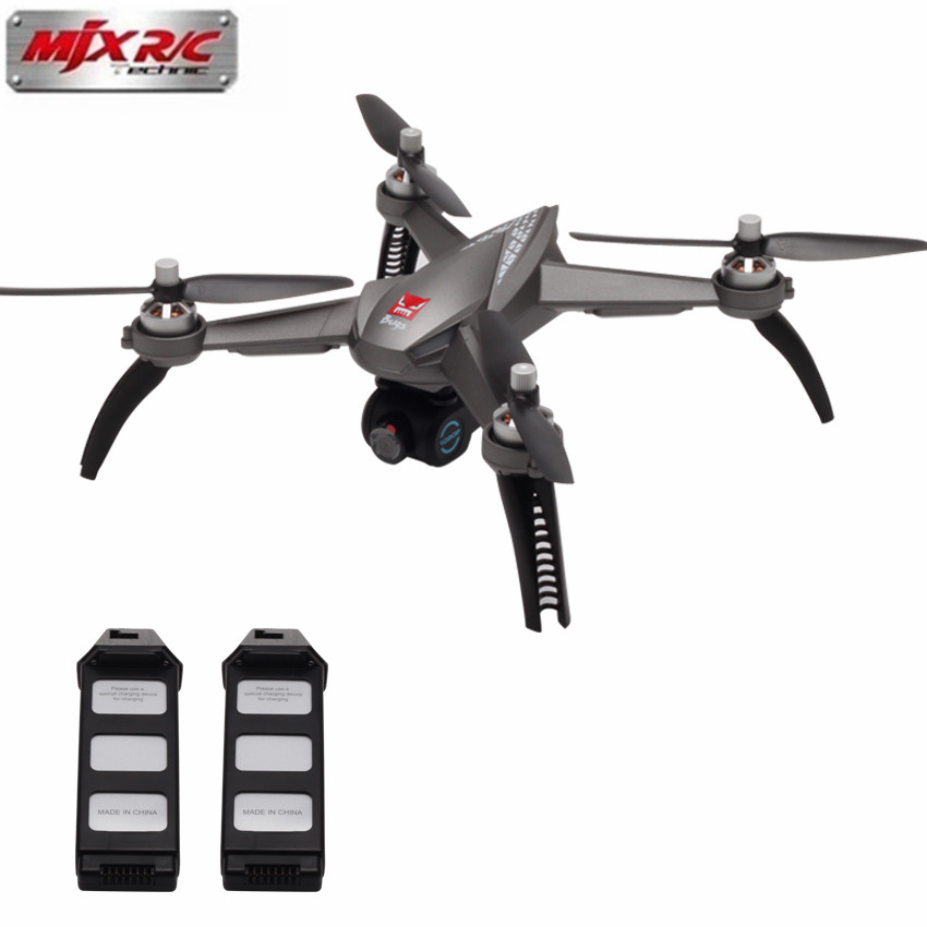 Professionnel Caméra Drone MJX B5W 5 w RC Drone 5g WiFi FPV 1080 p Caméra/Waypoints/Point d'intérêt/Maintien D'altitude/Une Clé Suivre