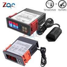 STC-1000 SHT2000 AC 110V 220V Цифровой термостат гигростат регулятор температуры влажности Регулятор терморегулятор гигрометр