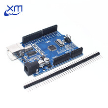 20 unids/lote UNO R3 MEGA328P CH340G chip 16Mhz para Arduino