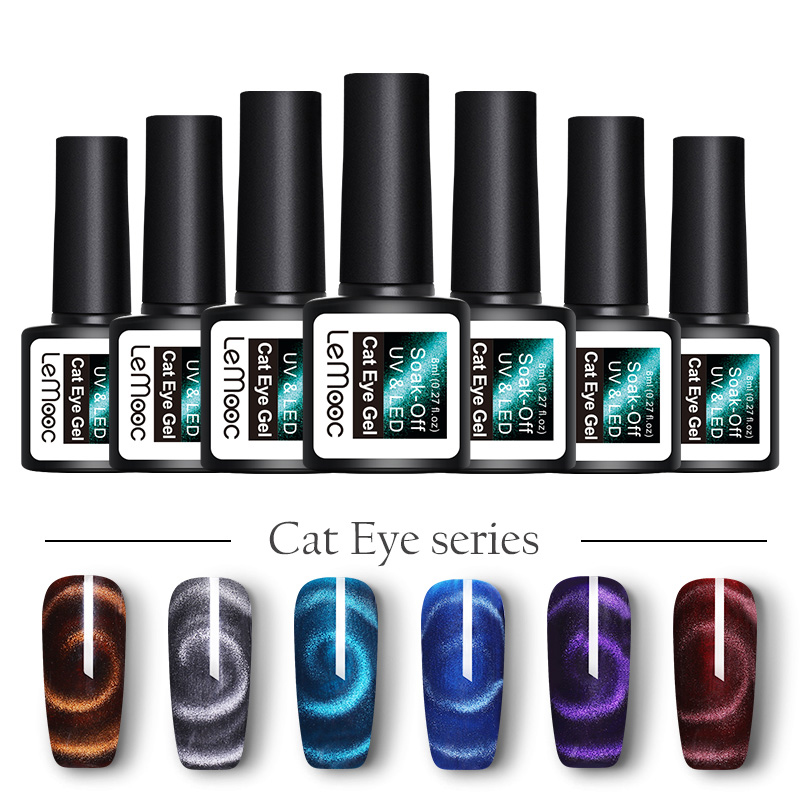 Gentle Gelfavor Uv Flower Cat Eye Magnet Nail Painting Stick Gel Nail Polish Led Art Nail Double Head Painting Magic Pen Nails Art & Tools Beauty & Health