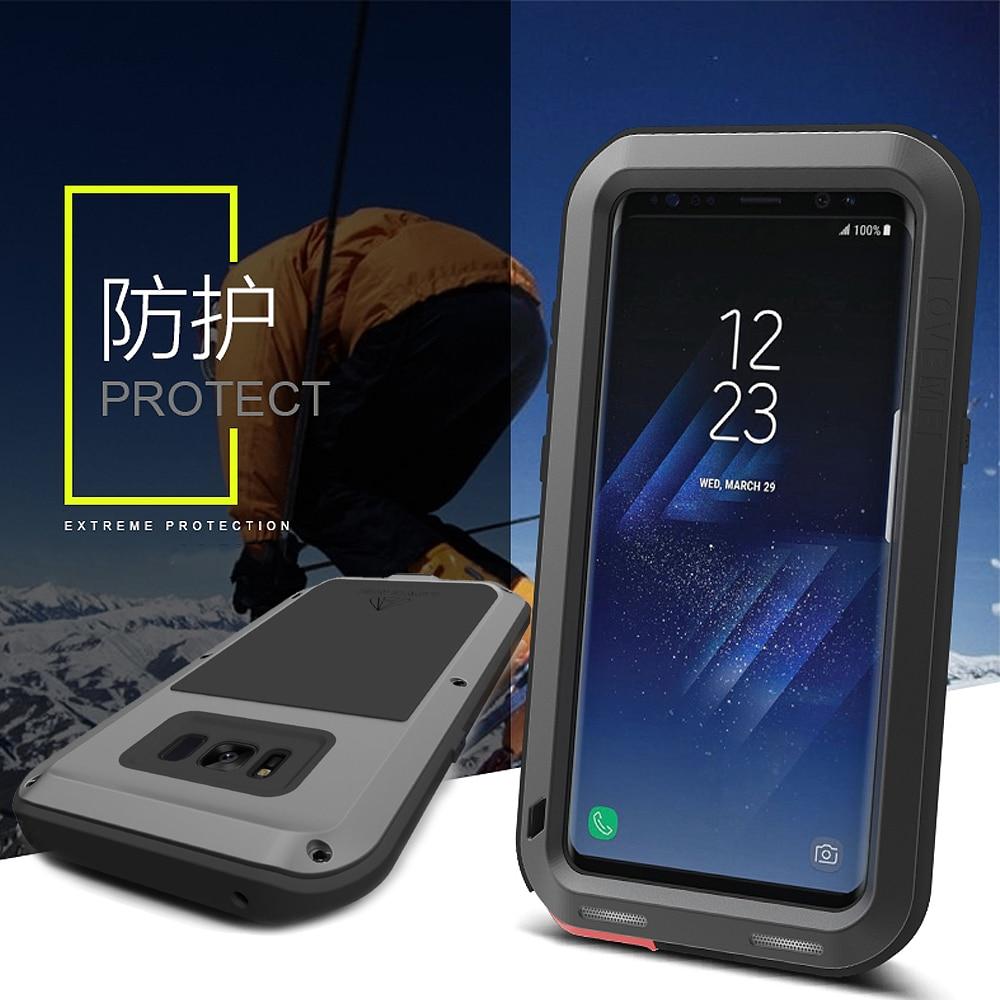Étui de protection hybride blindé étui étanche Fundas boîtier étanche à l'eau/saleté/choc/pluie pour Samsung Galaxy S8 S8 Plus