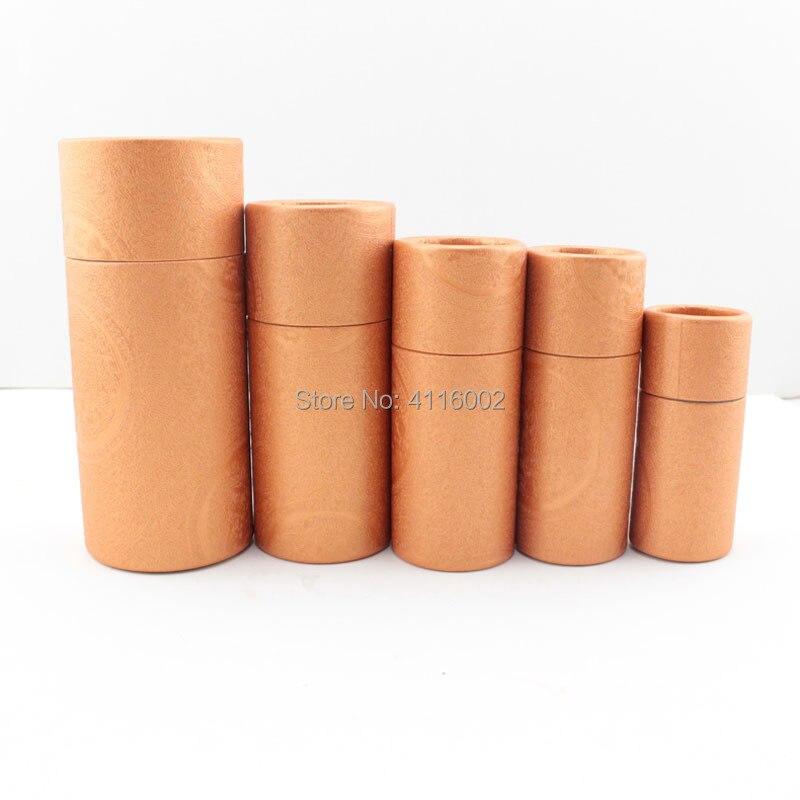 500 قطع 10 ملليلتر الضروري النفط زجاجة كرافت ورق التغليف الكرتون أنبوب مجوهرات/مستحضرات التجميل/هدايا التعبئة مربع-في صناديق وعلب تخزين من المنزل والحديقة على  مجموعة 2