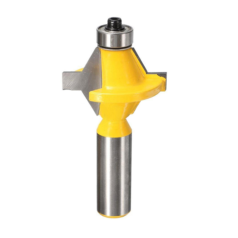 2Pcs 1 2 quot Shank Router Bit Set 120 Degree Woodworking Groove Chisel Tool New 2017 in Drill Bits from Tools