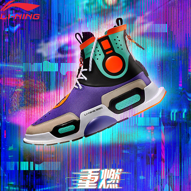 Li-Ning NYFW Unisex REBURN Basketball Culture Shoes Wearable LiNing Comfort Sport Shoes Sneakers AGBN052/AGWN054/AGBN054 XYL170
